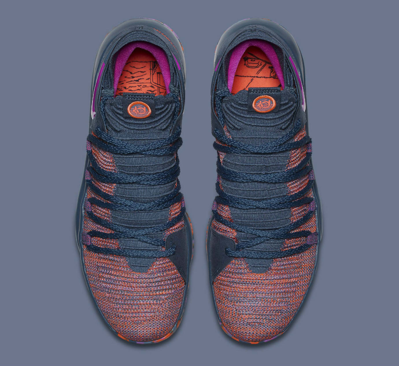 Nike KD 10 All-Star Release Date 897817-400 Top