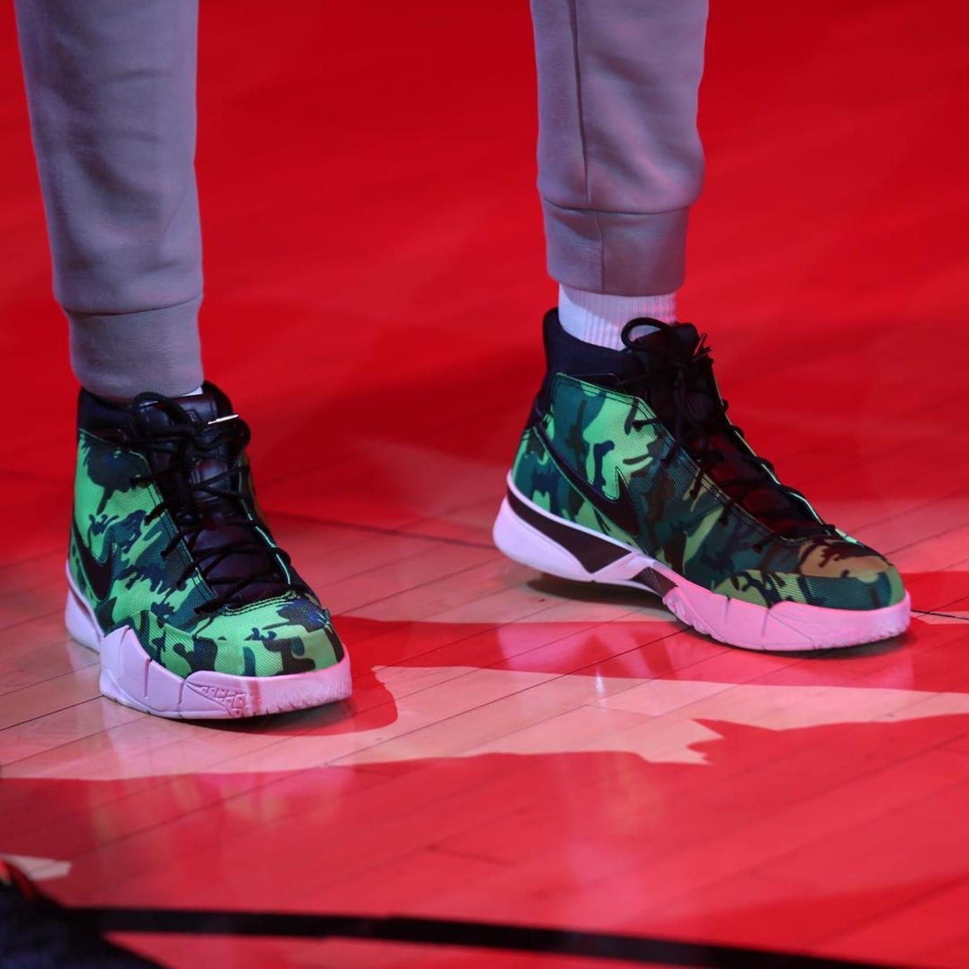 Giannis Antetokounmpo Undefeated x Nike Zoom Kobe 1 Protro Green Front