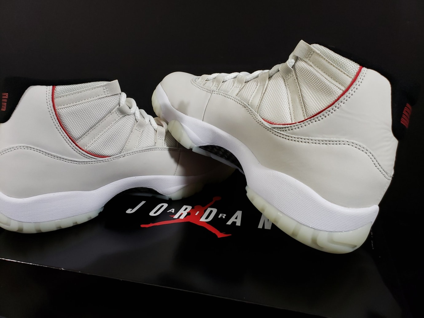 finest selection 023e8 f42fb Image via Fineline1721 · Air Jordan 11 XI Platinum Tint Release Date  378037-016 Medial