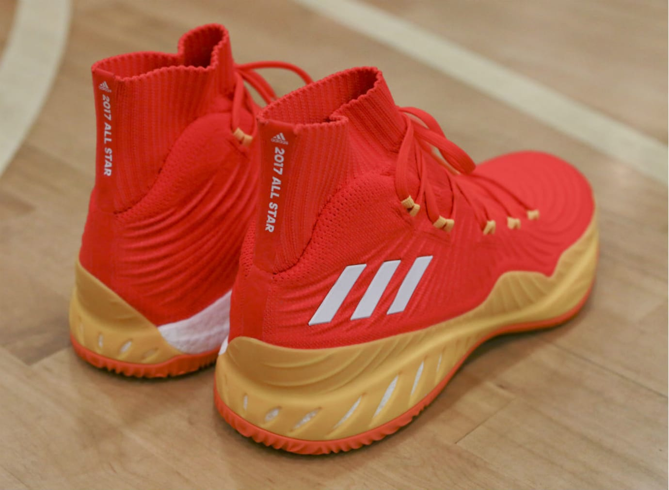 Candace Parker Adidas Crazy Explosive 17 All Star PE Heel