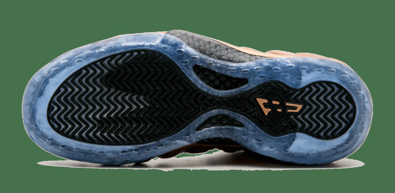 Copper Nike Air Foamposite One Sole