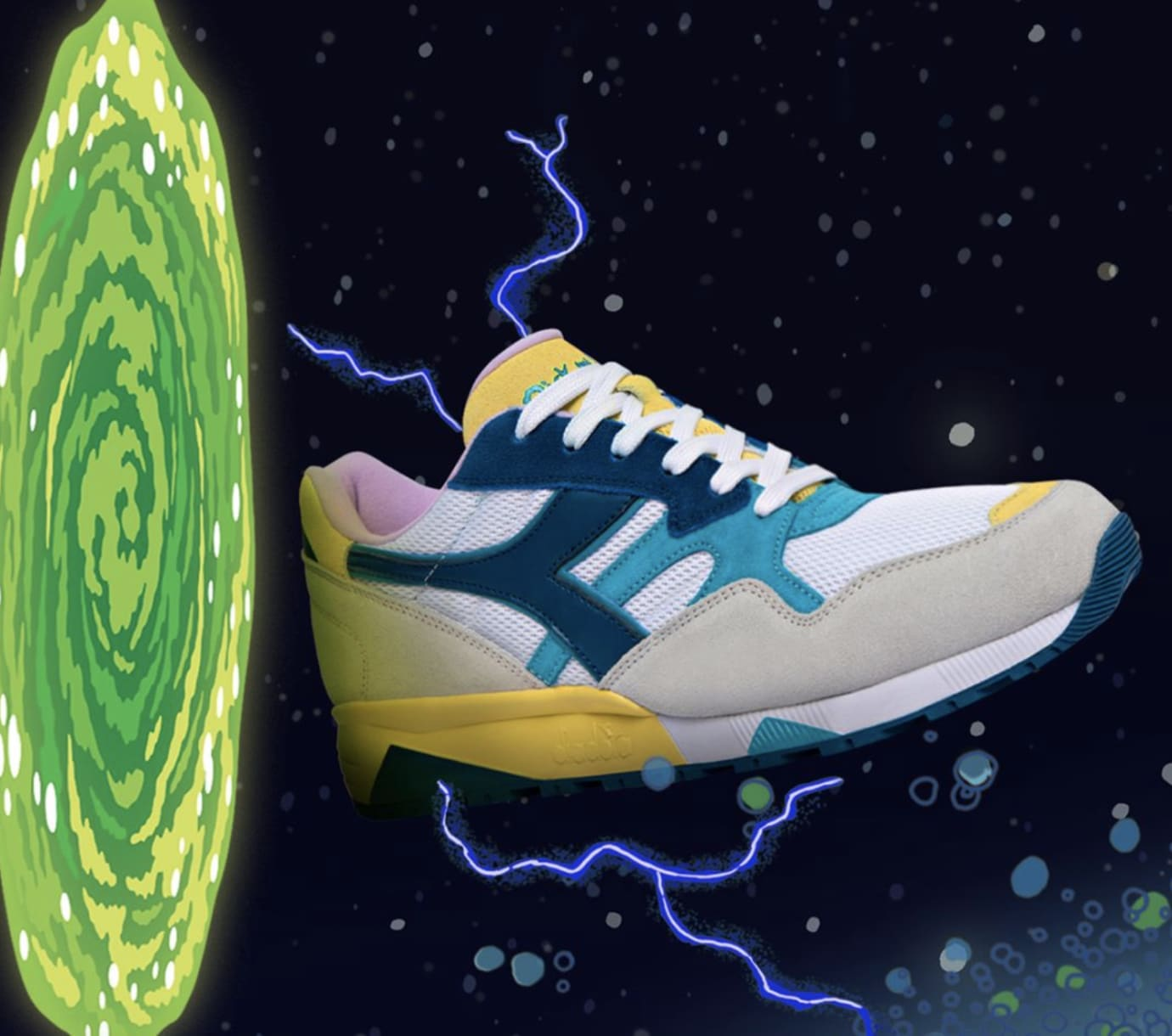 diadora x rick and morty collection release date sole collector
