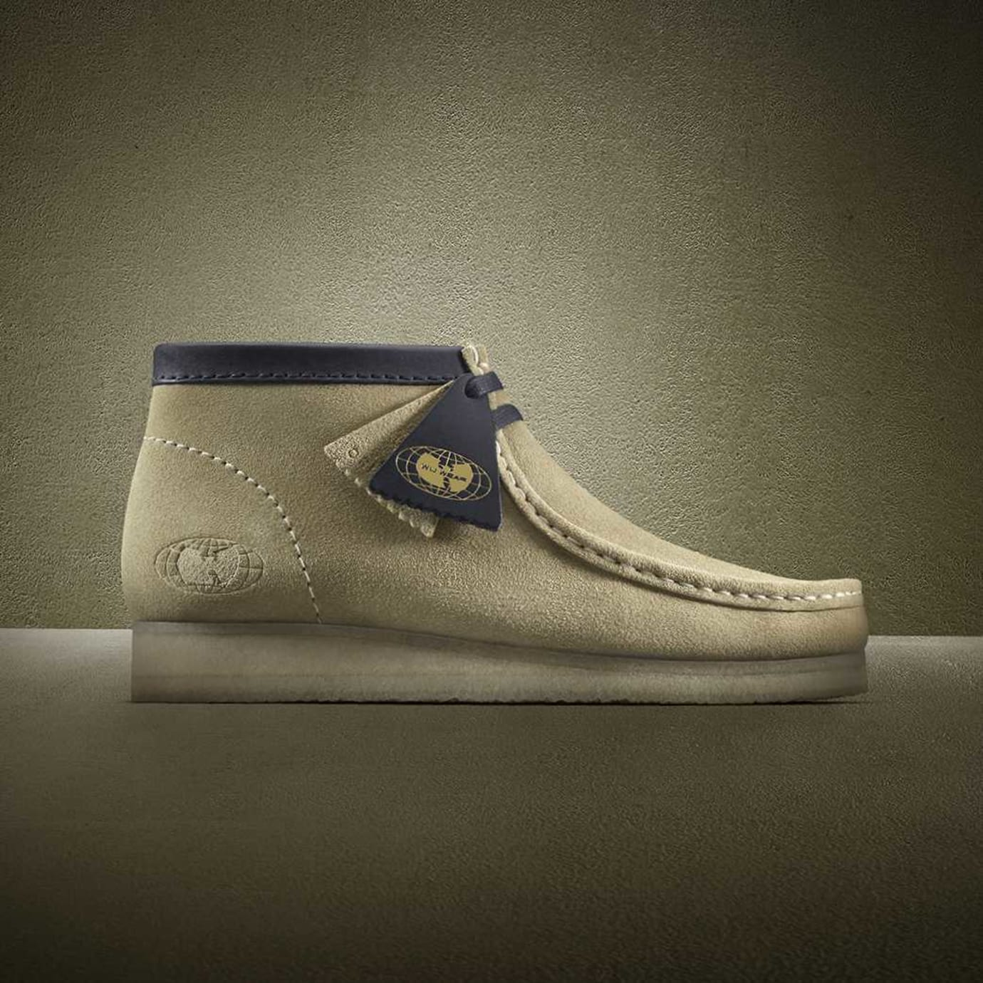 Wu-Wear x Clarks Wallabees 25th Anniversary Maple