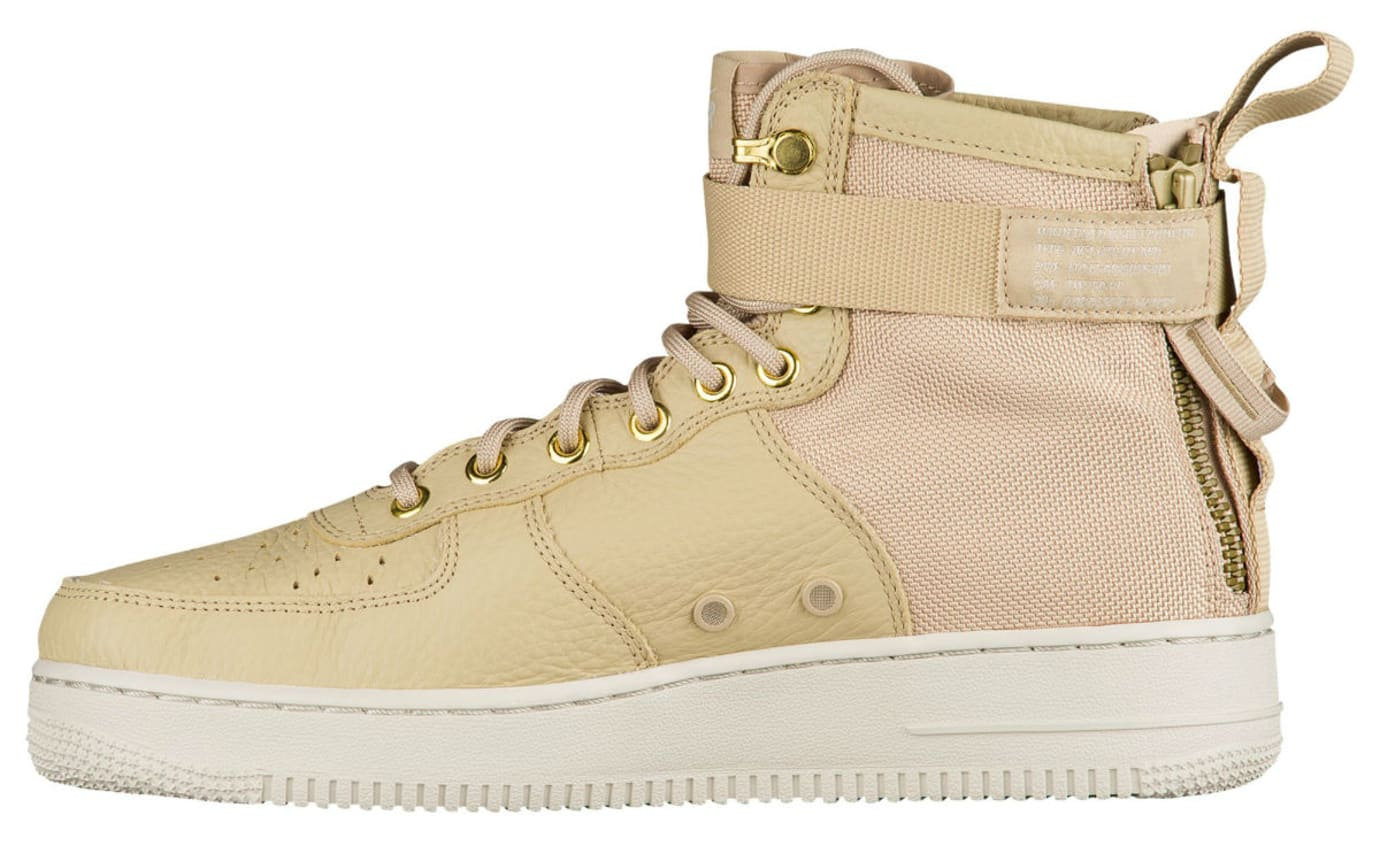 Nike SF Air Force 1 Mid Mushroom Release Date Medial 917753-200