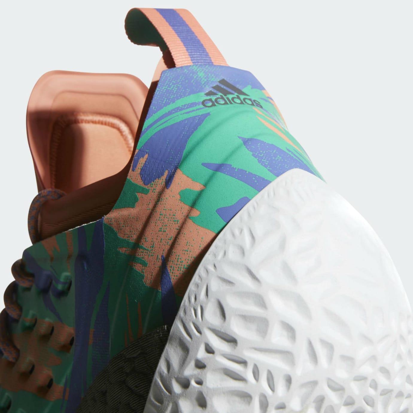 a94d88db2b4 Adidas Harden Vol. 2 Orange Release Date AH2219 Heel
