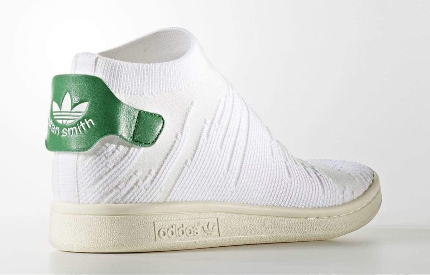 Adidas Stan Smith Sock Primeknit Classic Green Lateral