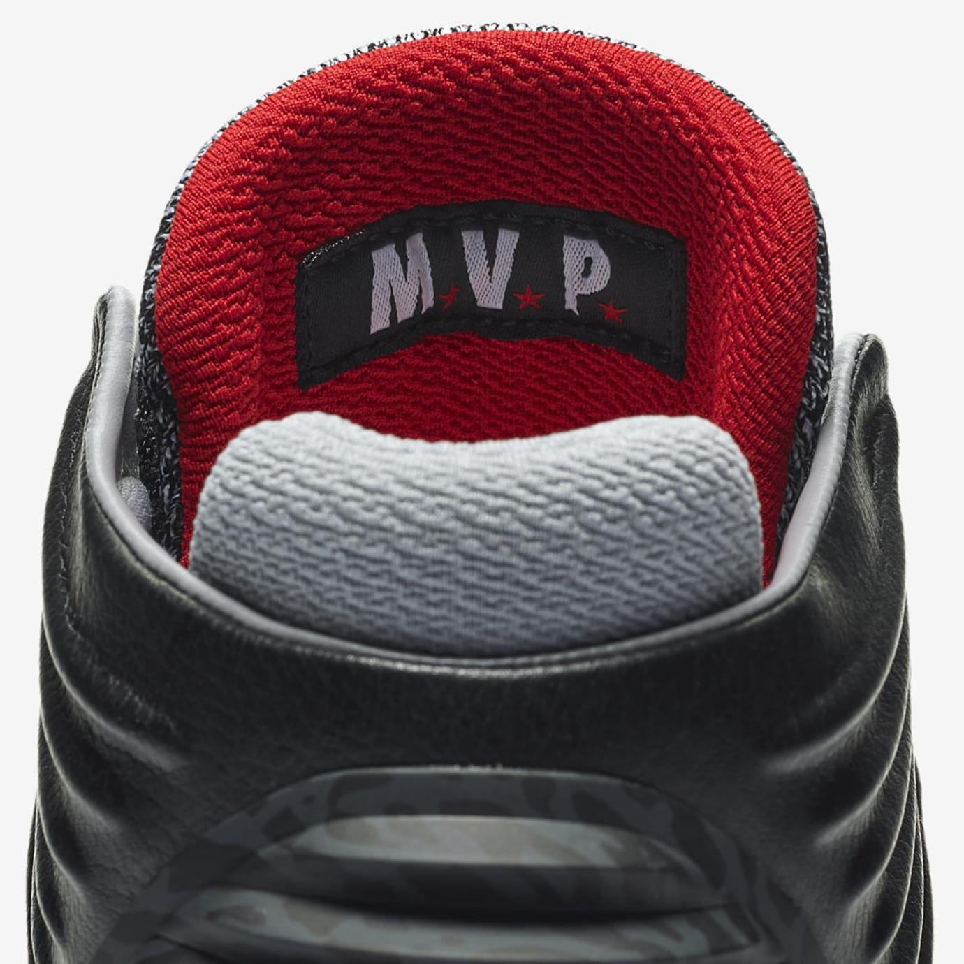 Air Jordan 32 MVP Black Cement AA1253-002 Tongue