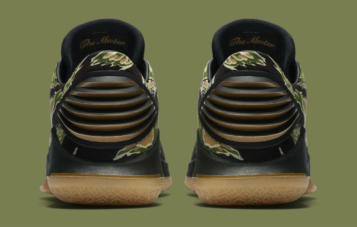 low priced 6b5ef d6a89 Air Jordan 32 Low Camo Men s Release Date AA1256-021 Heel