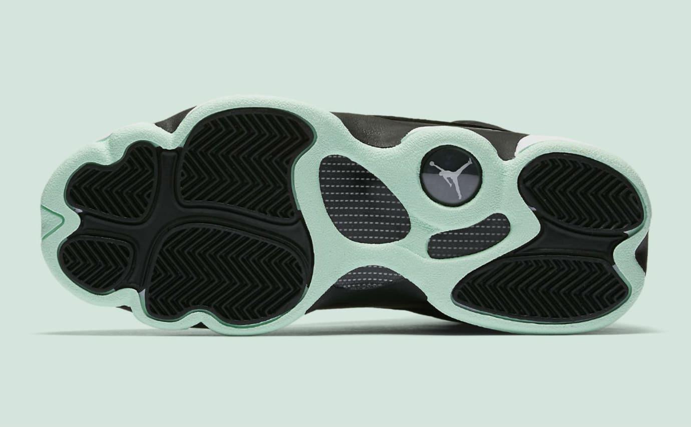promo code 2f901 149b0 Air Jordan 13 Mint Foam Release Date Sole 439358-015