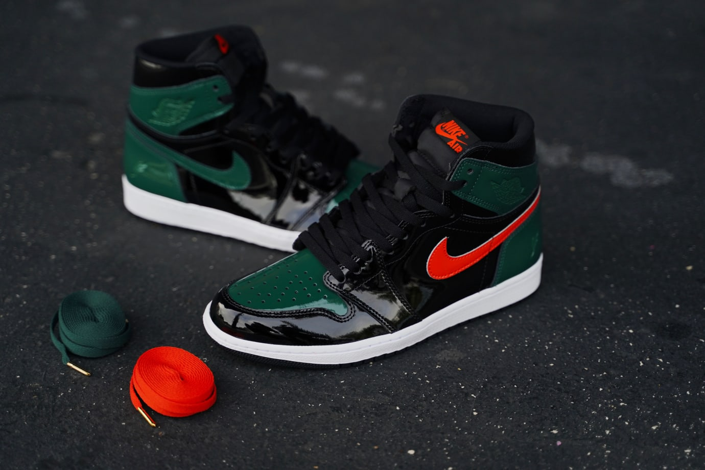 SoleFly Air Jordan 1 High OG Patent