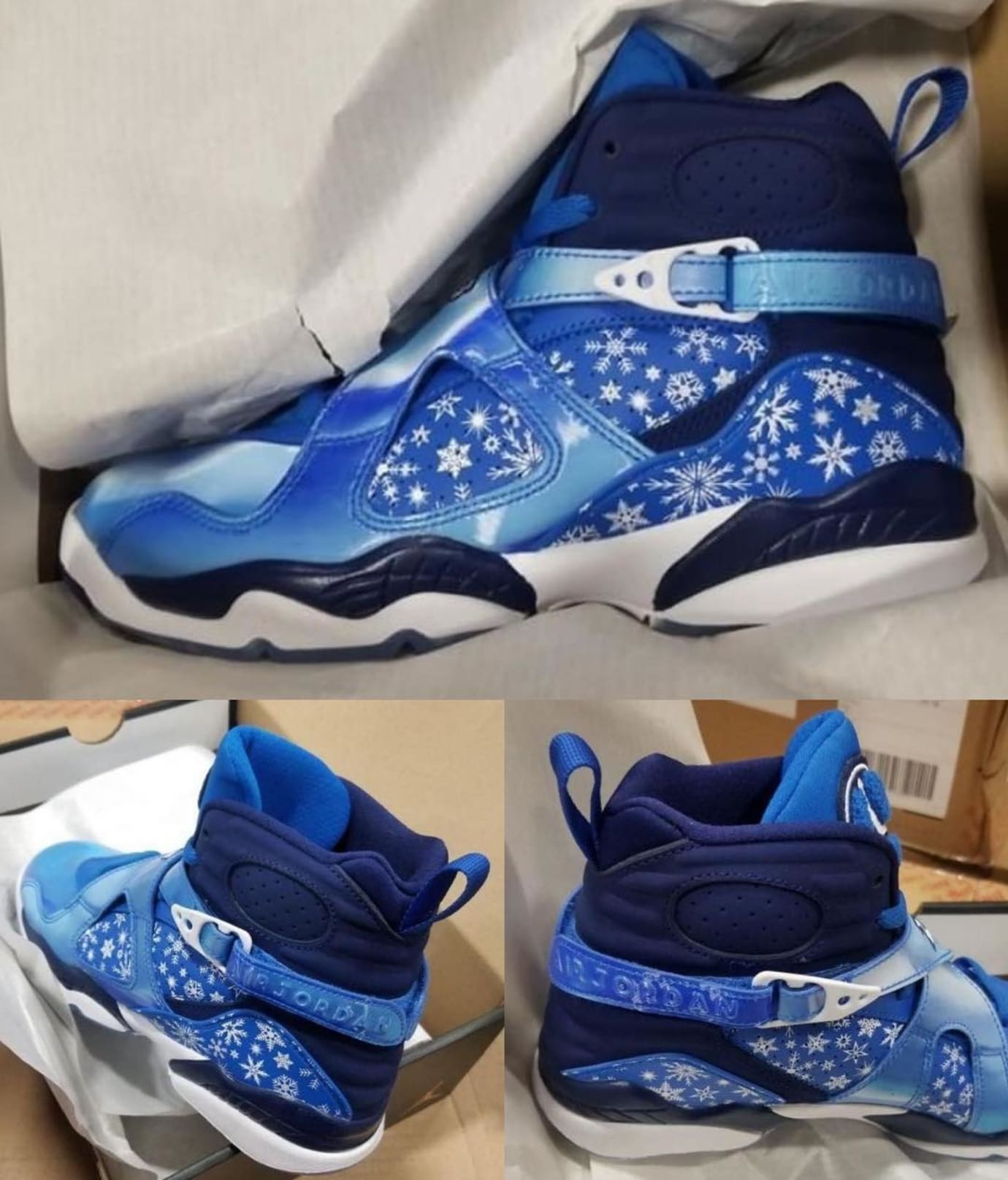 hot sales 132ff 523ad Air Jordan 8 VIII Snowflake Release Date 305368-400 | Sole ...
