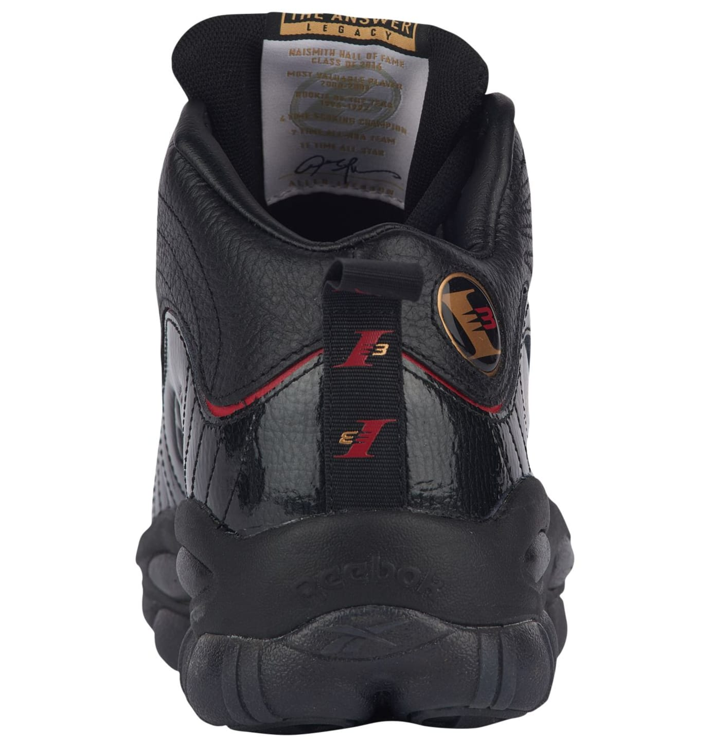 Reebok Iverson Legacy 'Black/Red' (Heel)