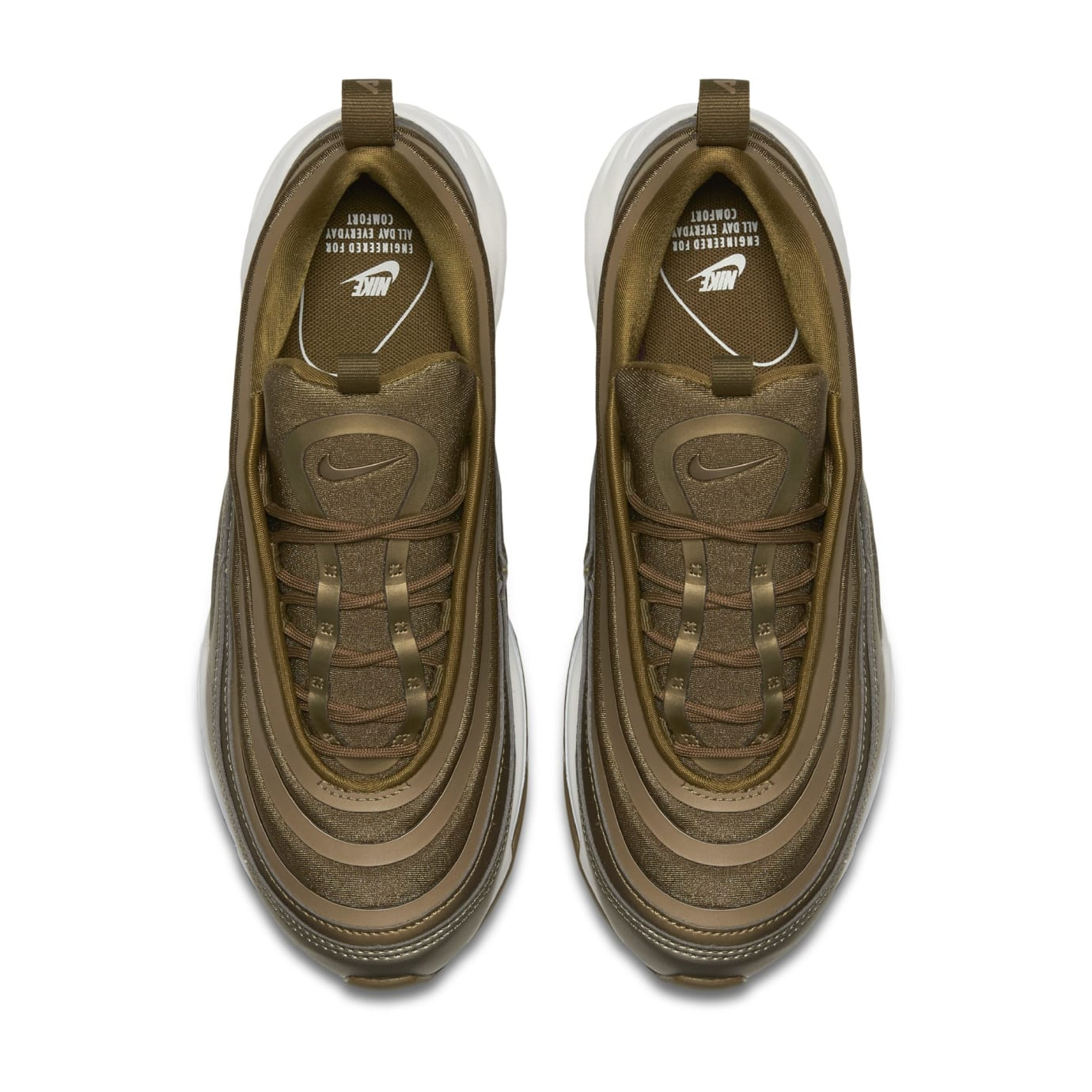 Nike Air Max 97 Ultra Metallic Gold (Top)