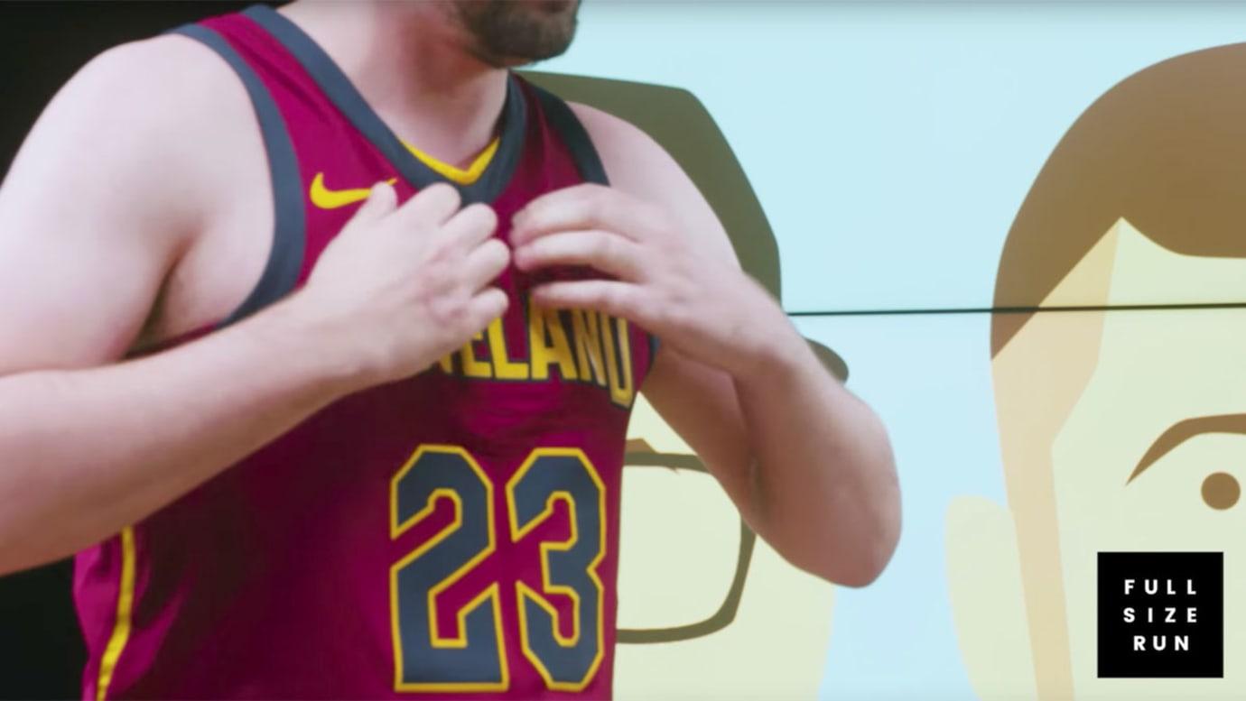 Full Size Run Ripping NBA Jerseys