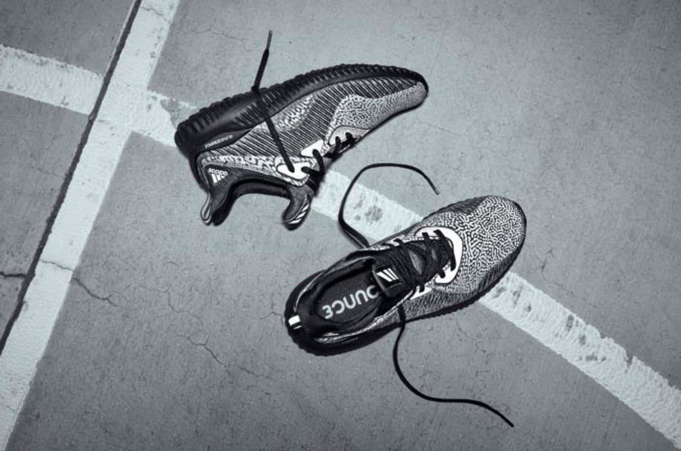 Adidas AlphaBounce Reflective 'Black'