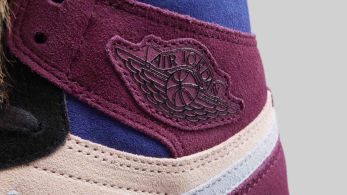 Aleali May x Air Jordan 1 Court Lux BV2613-600 (Detail)