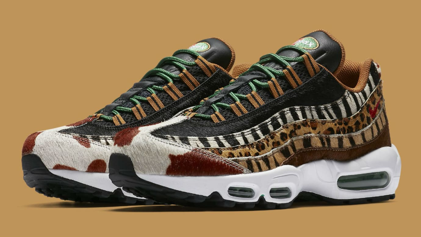 Atmos x Nike Air Max 95 Animal Pack Release Date AQ0929-200 Main