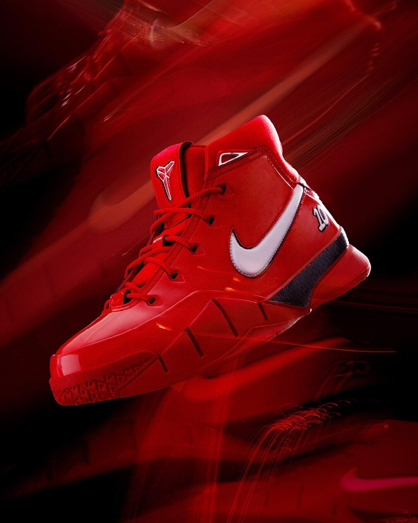 DeMar DeRozan Nike Zoom Kobe 1 Proto Red PE Release Date Profile