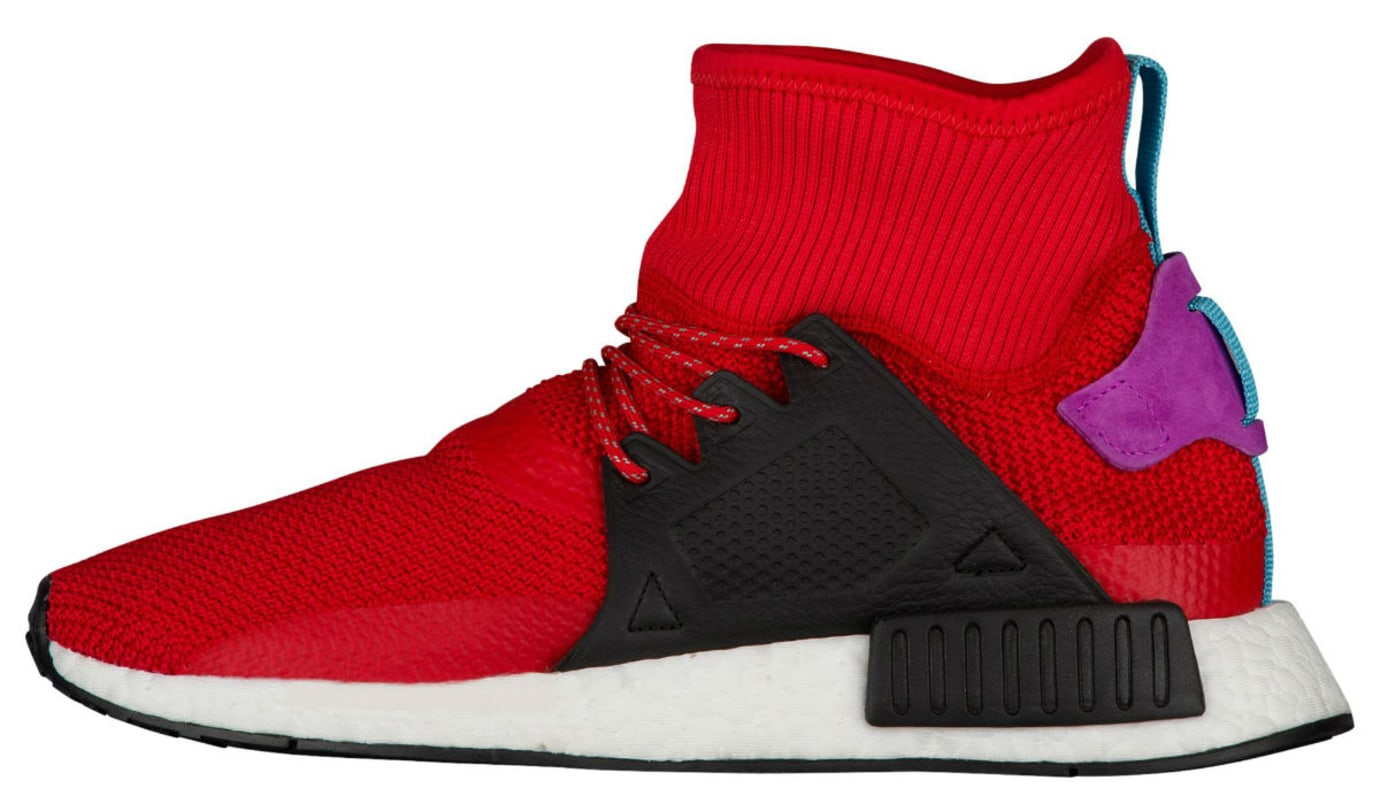 Adidas NMD XR1 Winter Scarlet Shock Purple Release Date Medial BZ0632