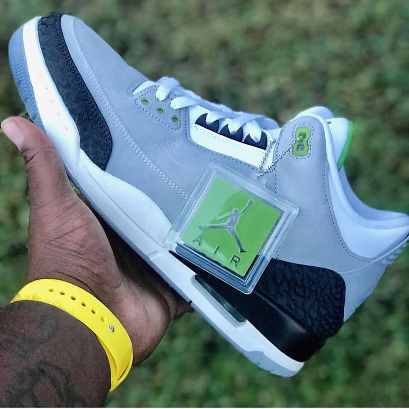 quality design c4ff8 dd03e Air Jordan 3 Chlorophyll Release Date