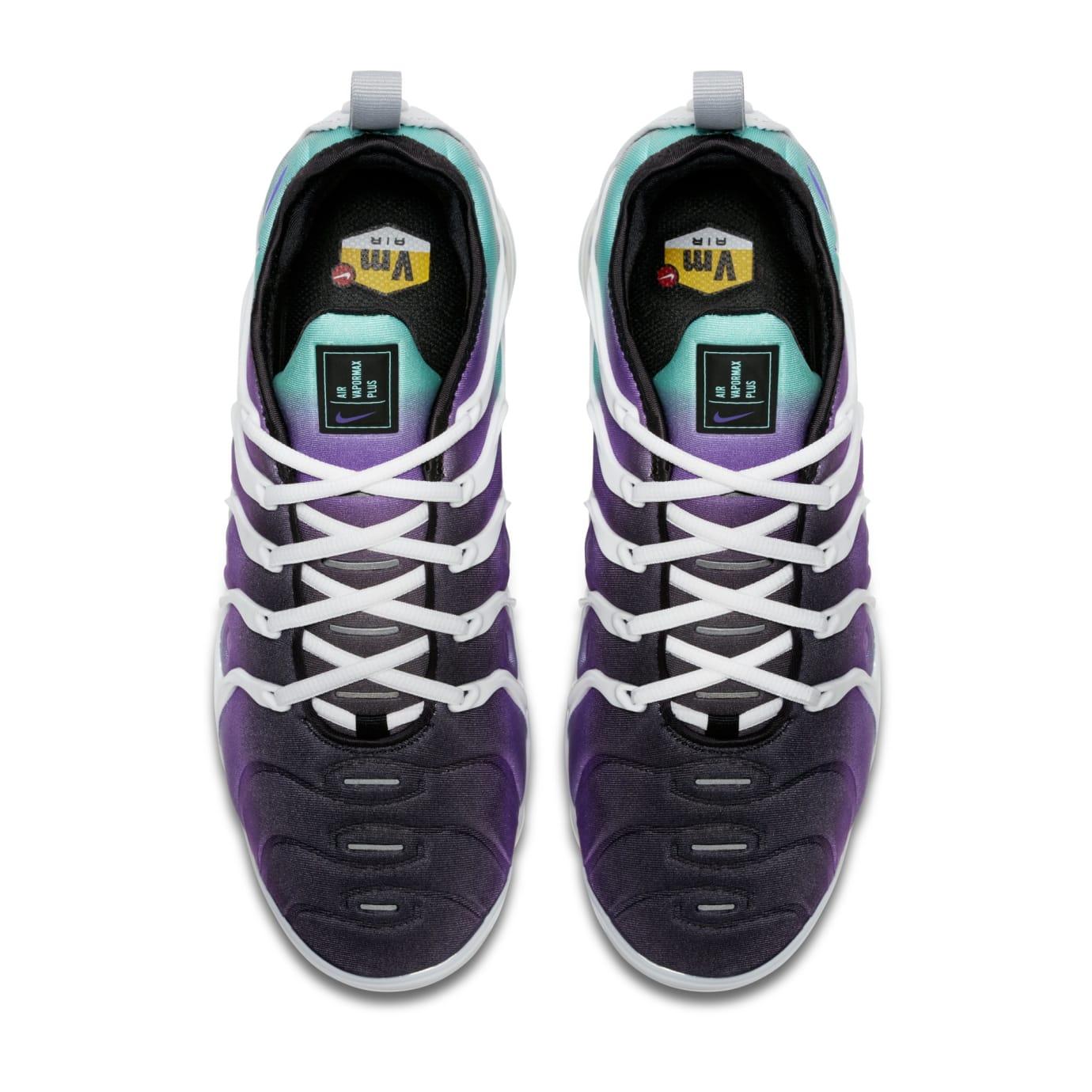 Nike Air VaporMax Plus 'Purple/Aqua' 924453-101 (Top)
