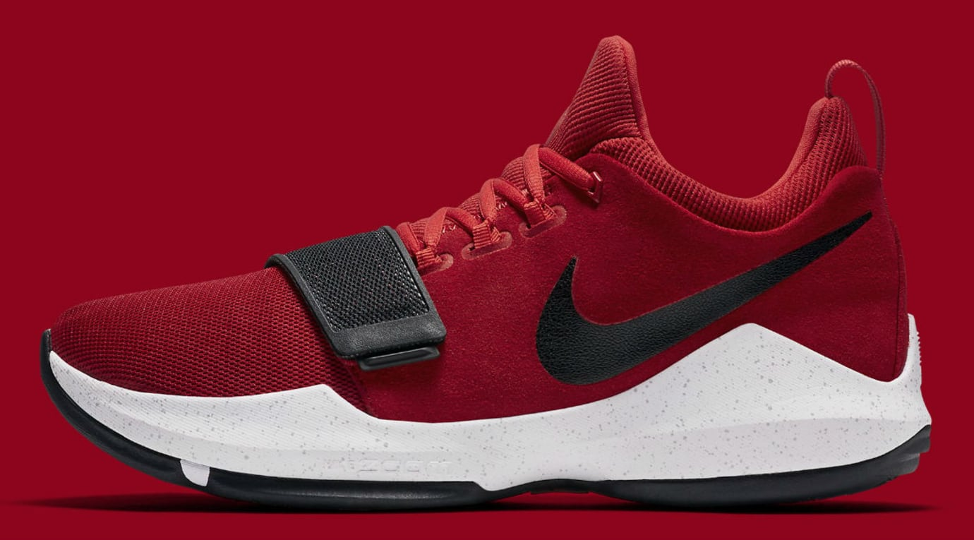 Nike PG1 University Red Release Date Profile 878628-602
