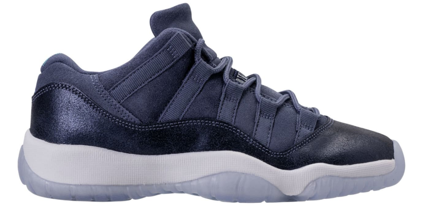 check out 287dd 5a28c Air Jordan 11 Low Blue Moon Release Date Profile 580521-408