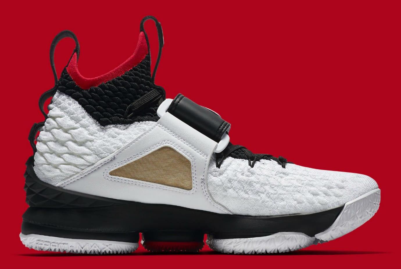 9b4f8160eb18f Nike LeBron 15 Diamond Turf Release Date AO9144-100 Medial