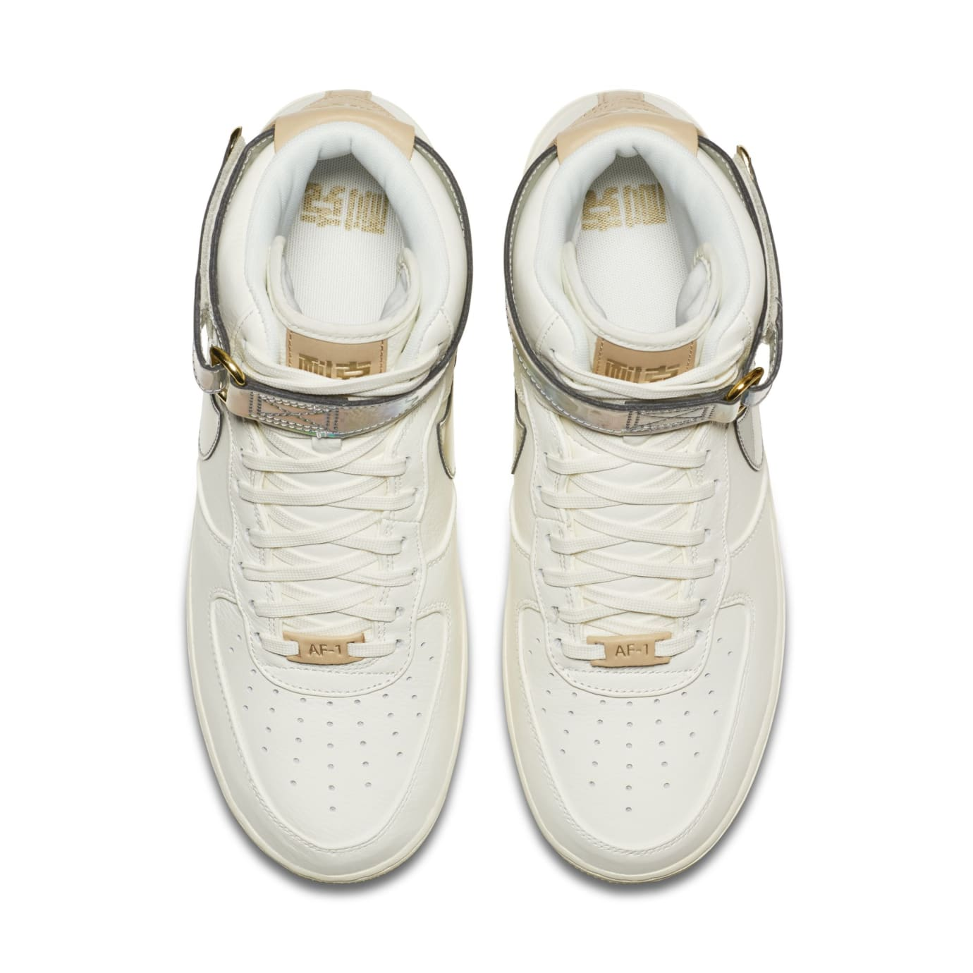 amazon hot product retail prices Nike Air Force 1 High 'Nai Ke/The Bund' White/Laser Brown Release ...