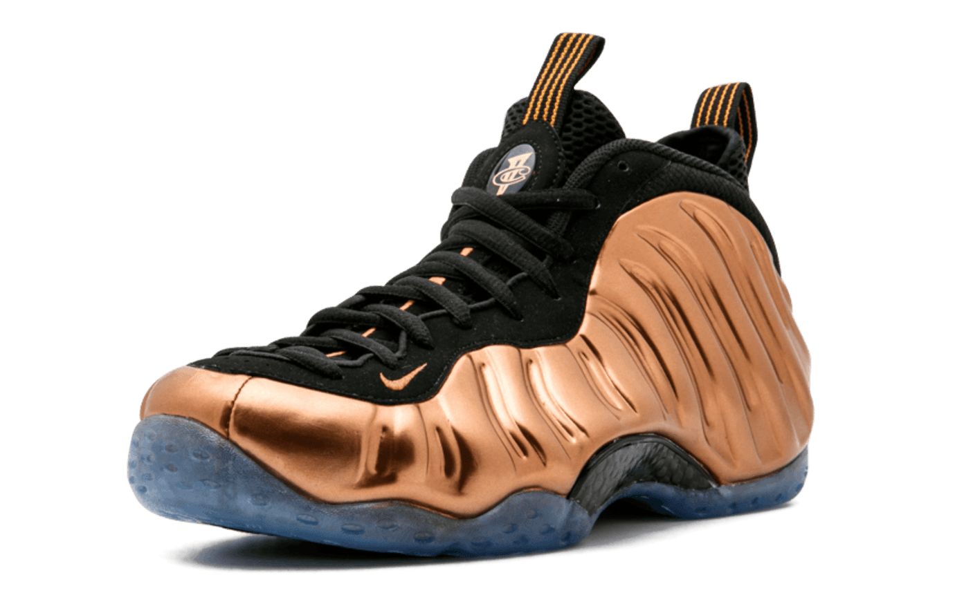 Copper Nike Air Foamposite One Front