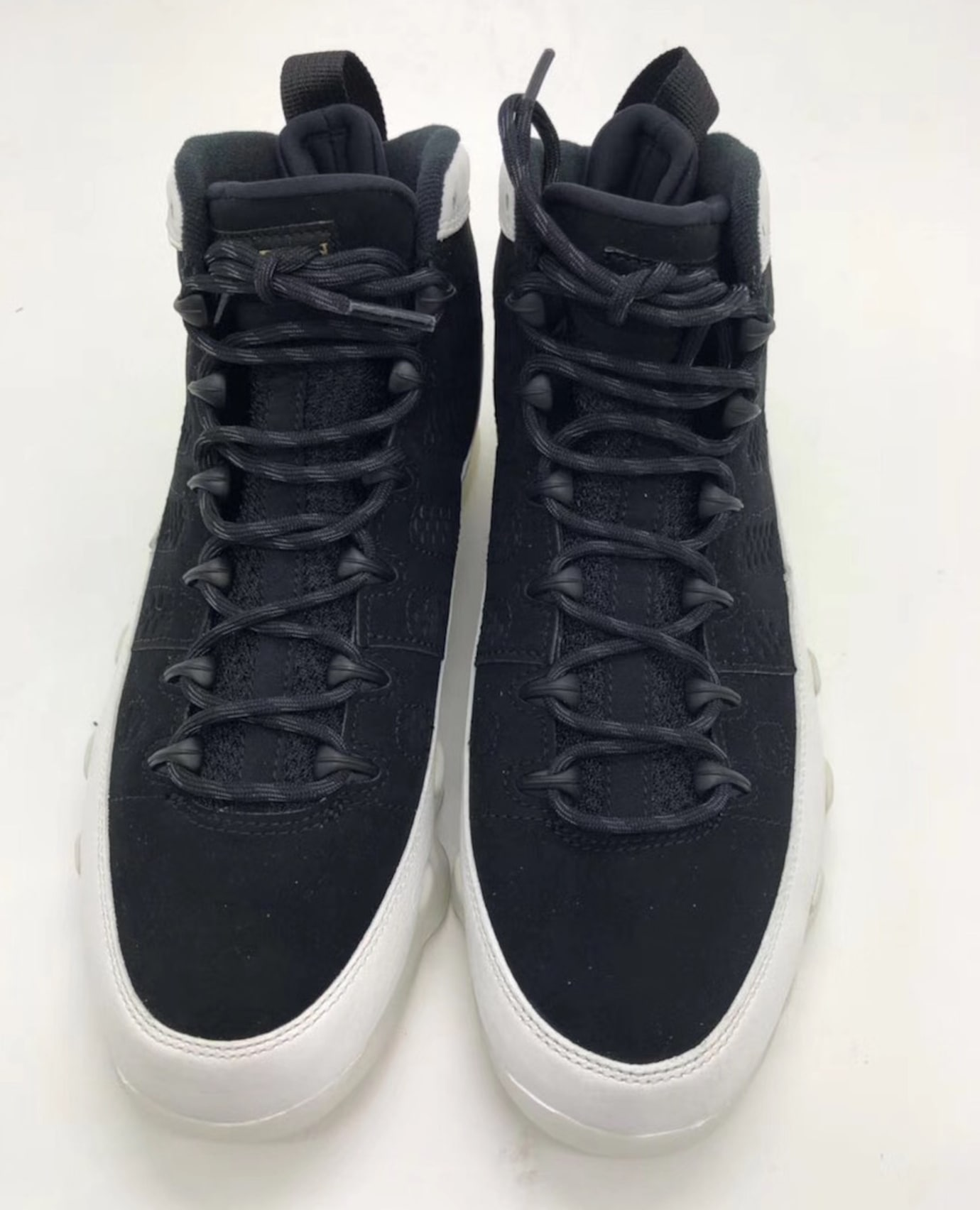 1545e44230c Air Jordan 9 IX Black Summit White Gold 2018 Release Date 302370-021 ...