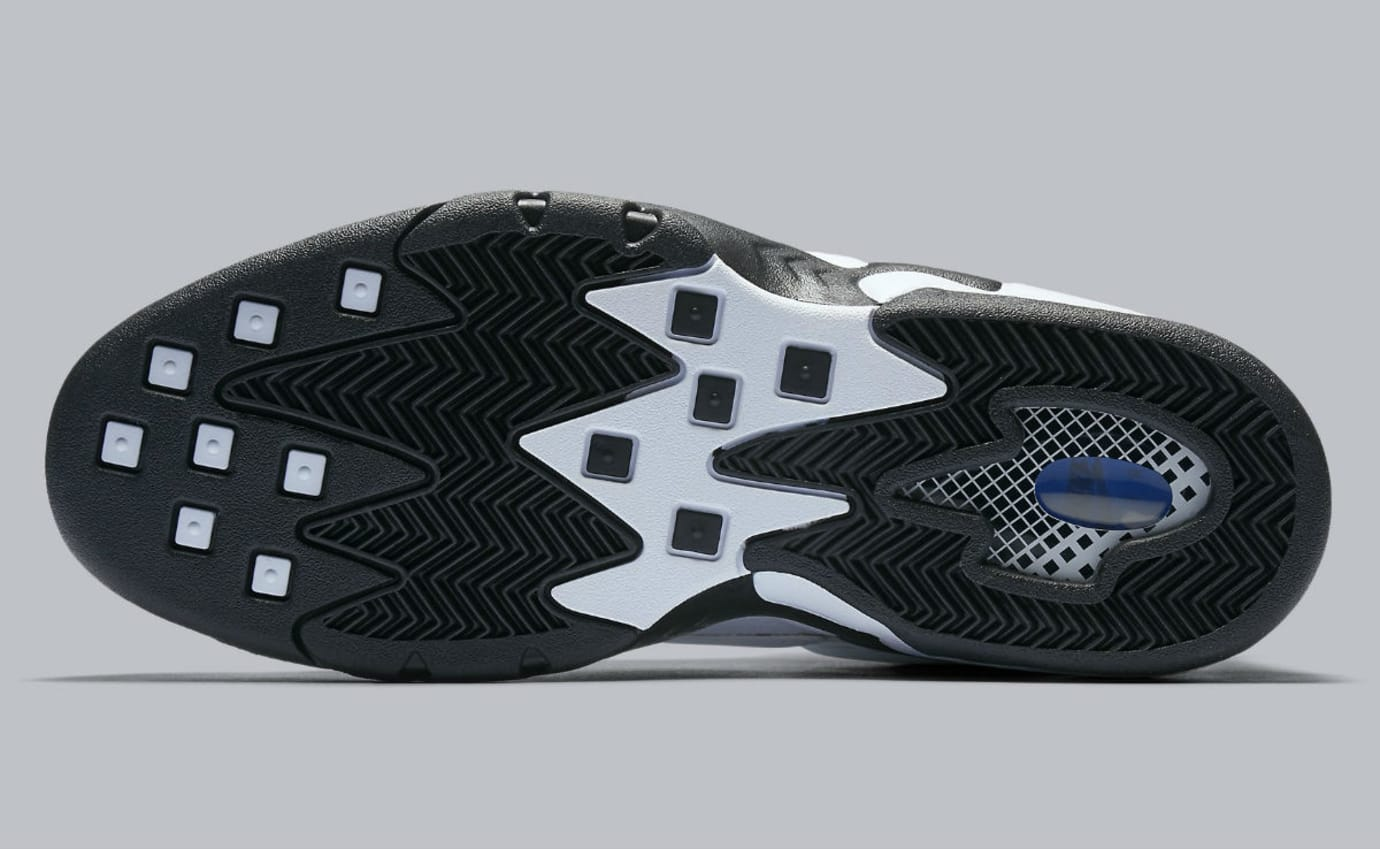 Nike Air Max2 Uptempo White/Black Release Date Sole 922934-102