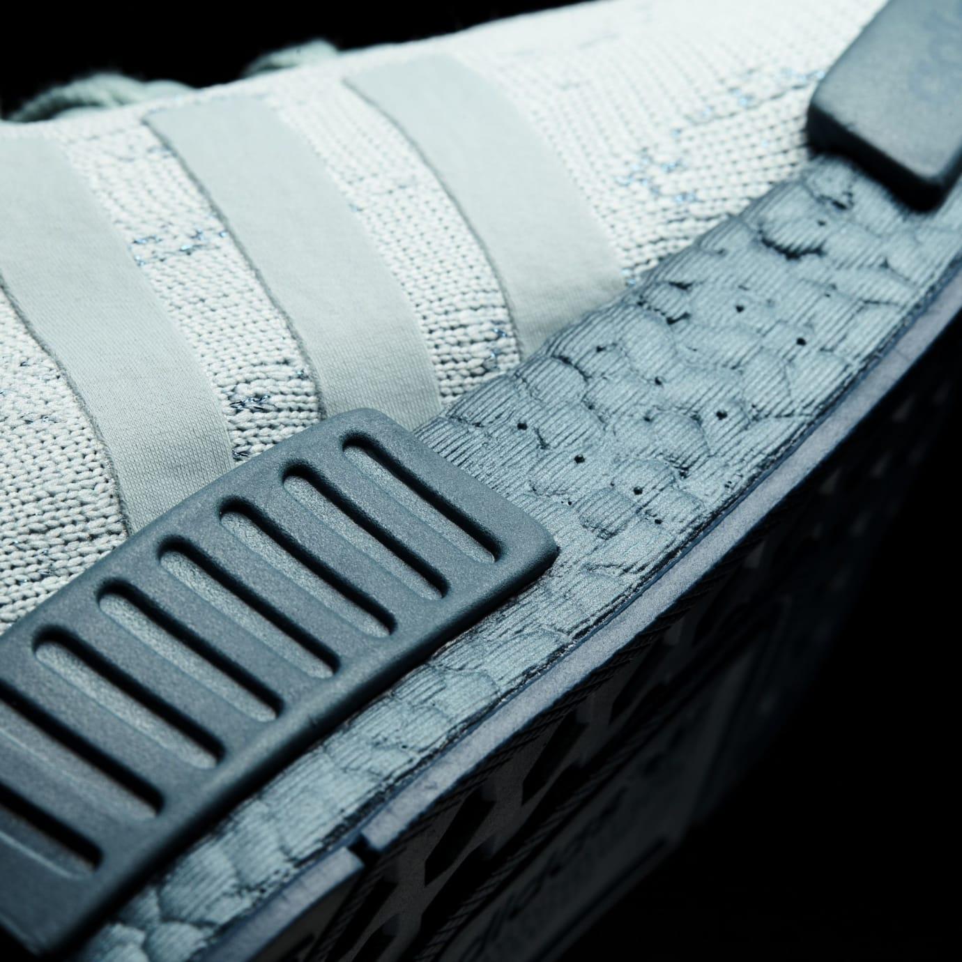 Adidas NMD Blue Grey Glitch Boost CG3601 Midsole Detail