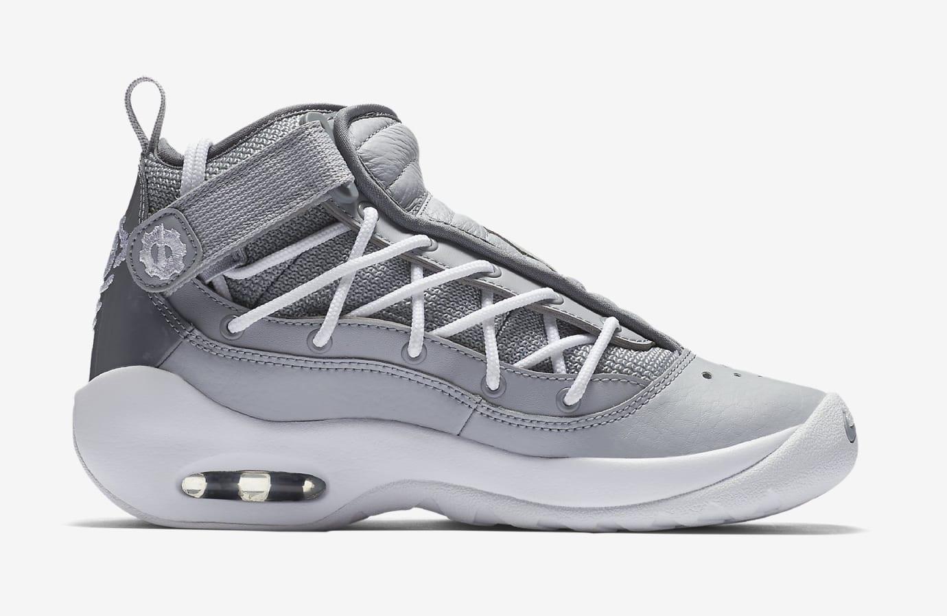 Nike Air Shake Ndestrukt 'Cool Grey' AA2888-002 (Medial)