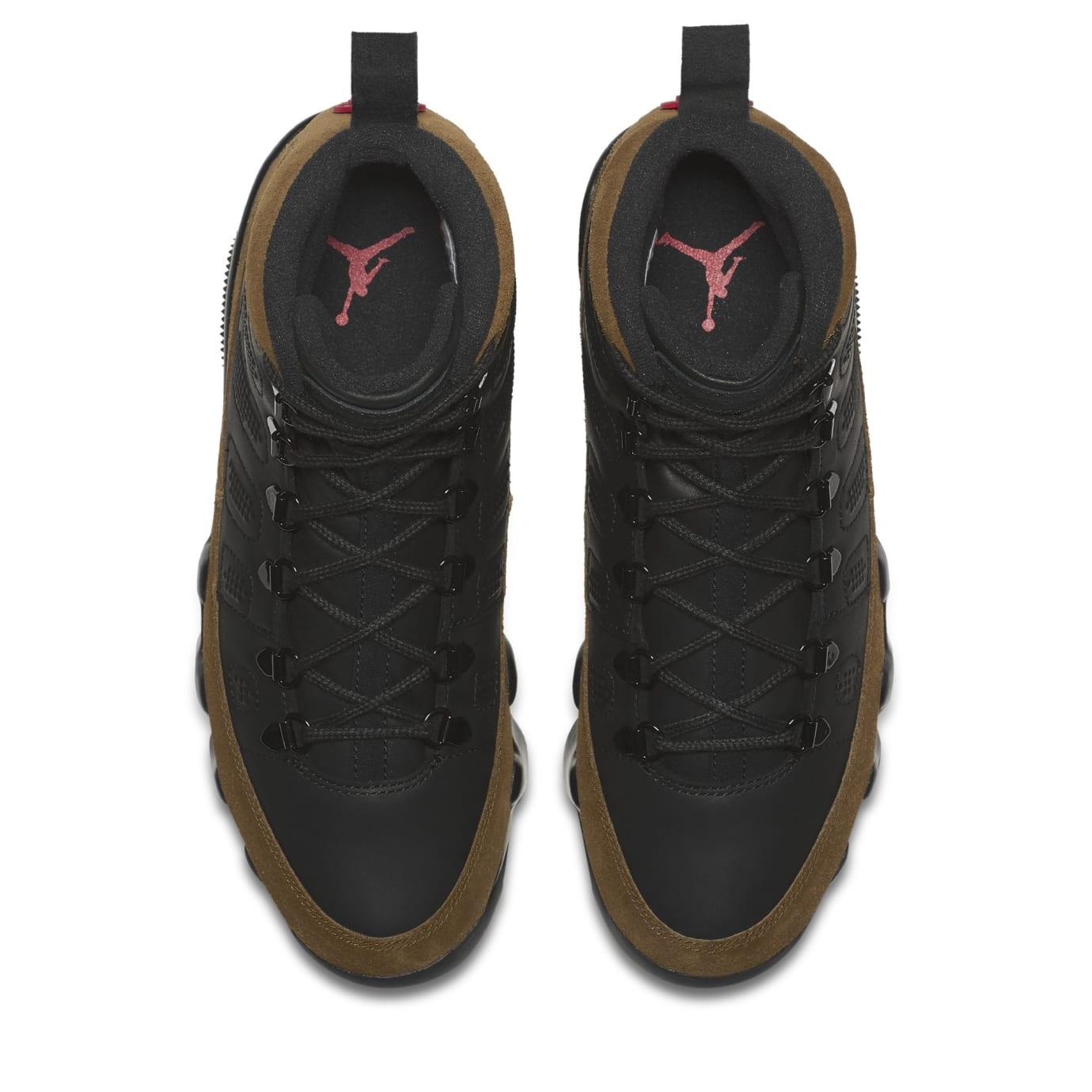 bd7b4128a8c062 Image via Nike Air Jordan 9 NRG Boot  Olive  AR4491-012 (Top)
