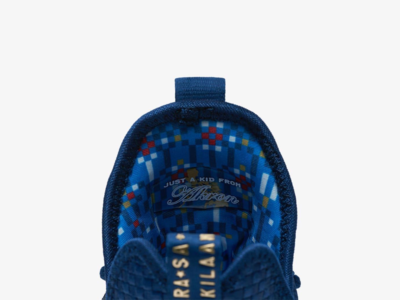Nike LeBron 14 Agimat Release Date Tongue