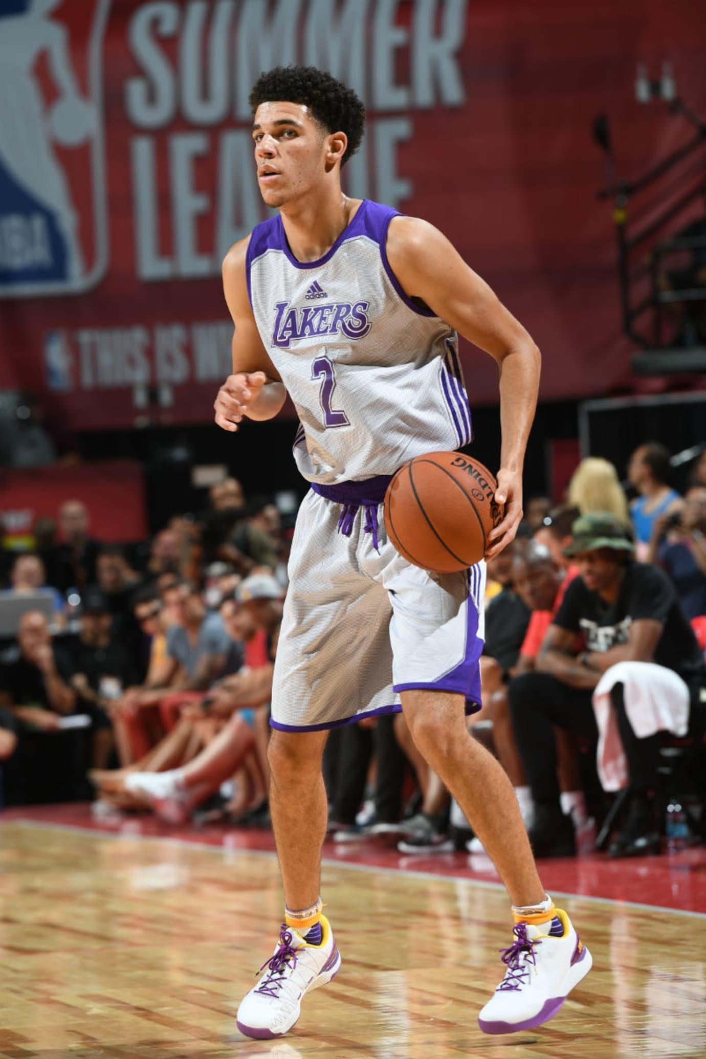 Lonzo Ball Big Baller Brand ZO2 SHO'TIME Lakers Summer League Debut