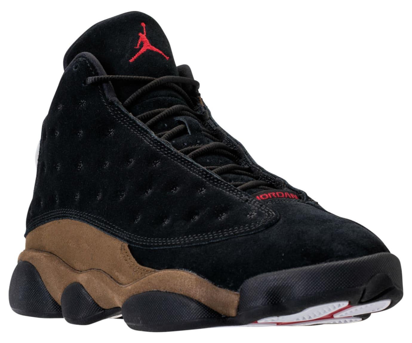 bd58982da70c1c Air Jordan 13  Olive  Black True Red-Light Olive 414571-006
