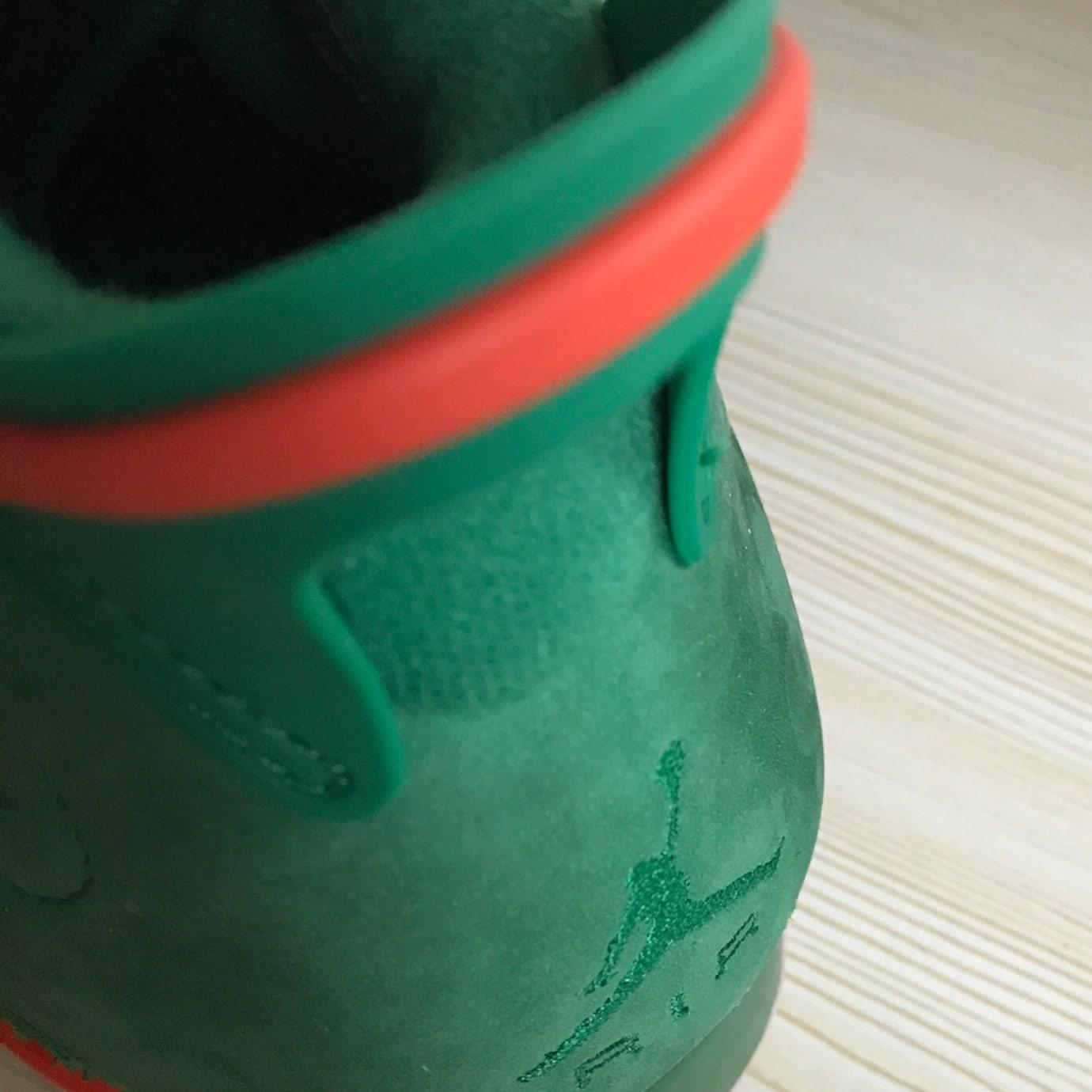 Air Jordan 6 Gatorade Release Date Heel 384664-145