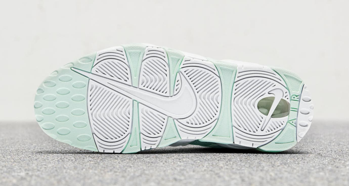 Nike Air More Uptempo Barely Green 917593-300 Sole