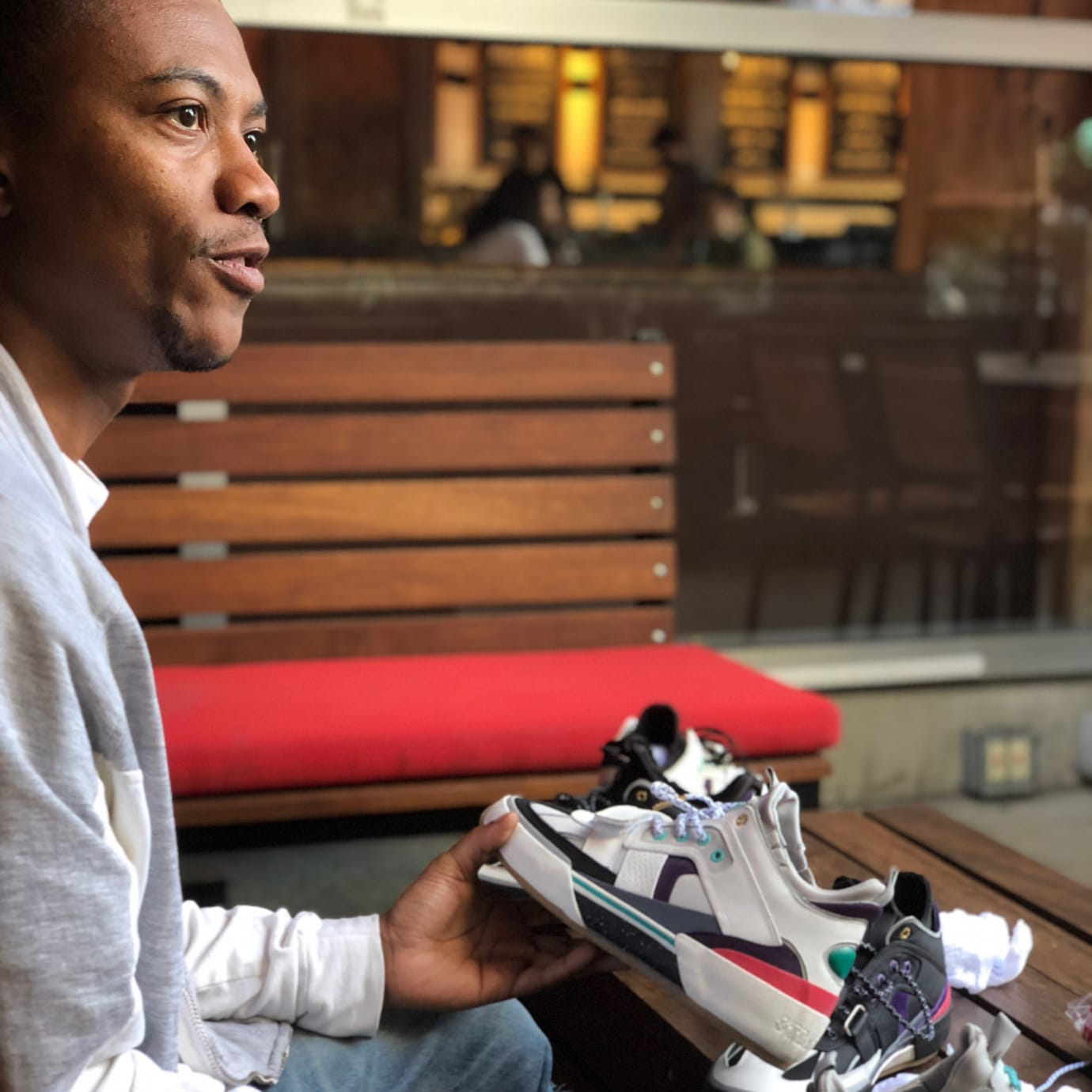Ibn Jasper With Stratica International Sneaker Samples
