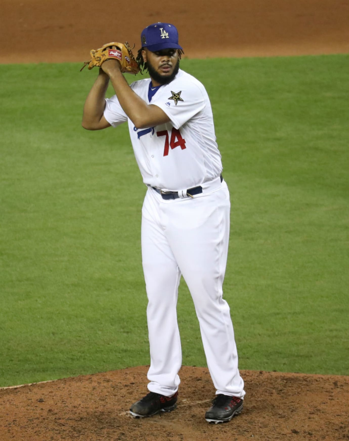 Kenley Jansen Air Jordan 9 Baseball All-Star Cleats