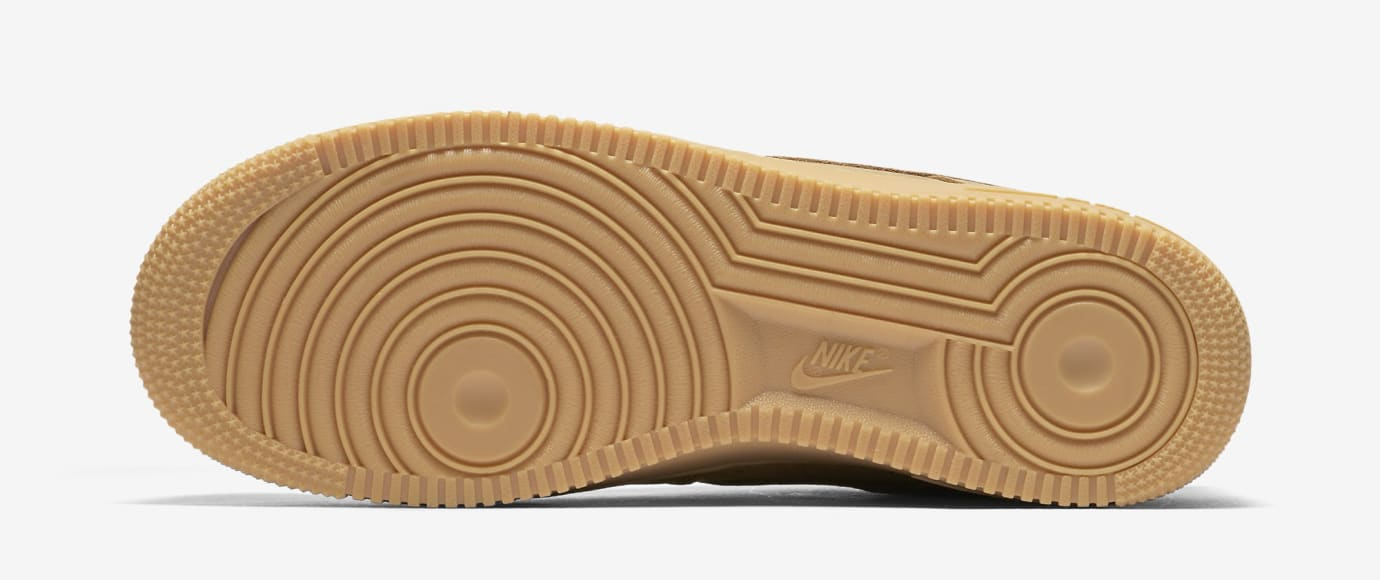 Wheat Nike Air Force 1 Low AA4016-200 Sole