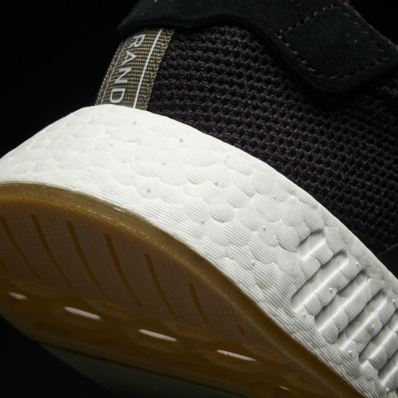 d0f76e2400ec2 Adidas NMD R2 Black Gum Release Date Heel BY9917