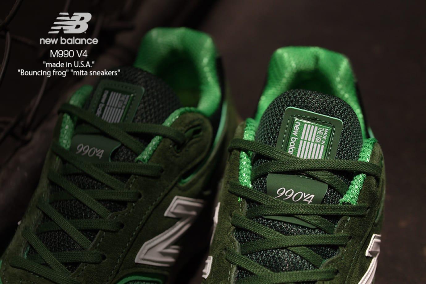 Image via Mita Sneakers Mita Sneakers x New Balance 990v4  Bouncing Frog   (Tongue) 42fe9e6b7