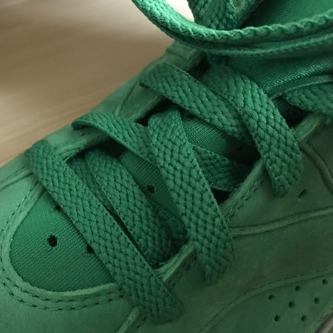 Air Jordan 6 Gatorade Release Date Laces 384664-145