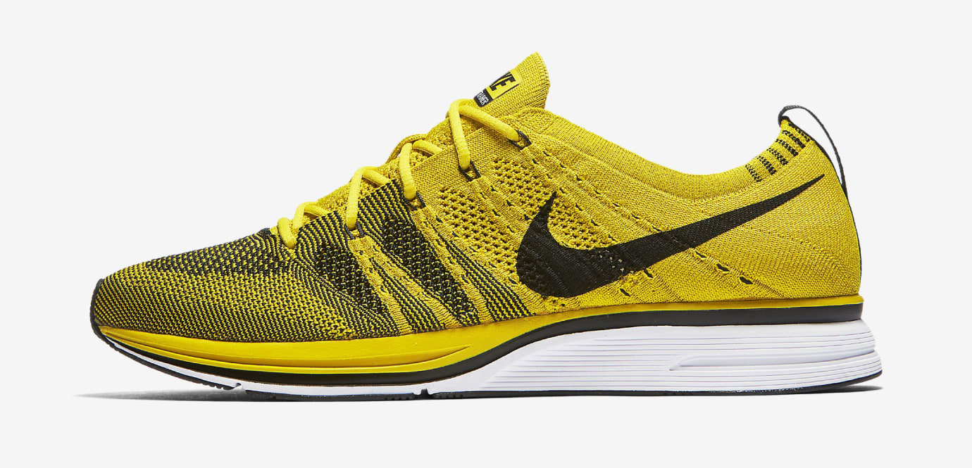 Nike Flyknit Trainer Citron ah8396-700 Profile