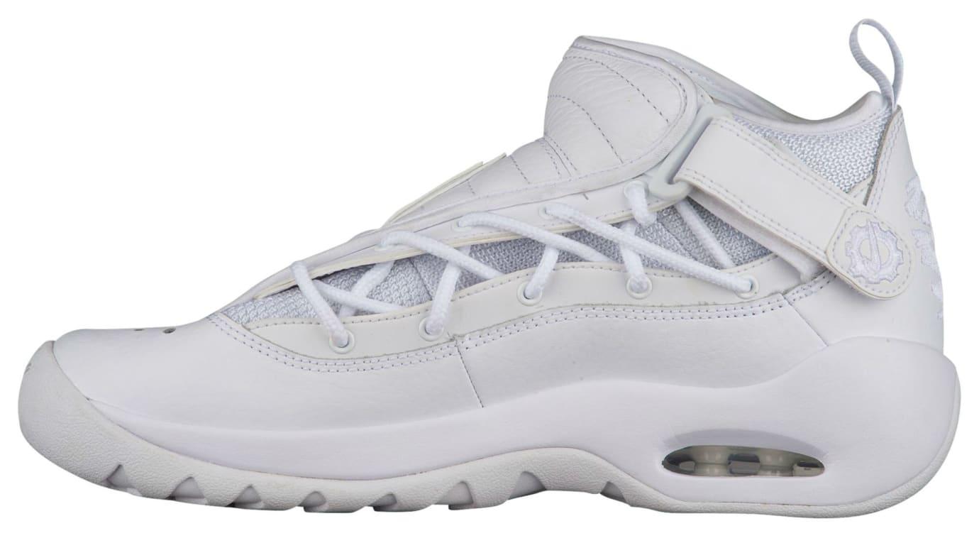 Nike Air Shake Ndestrukt All-White Release Date Medial 880869-101