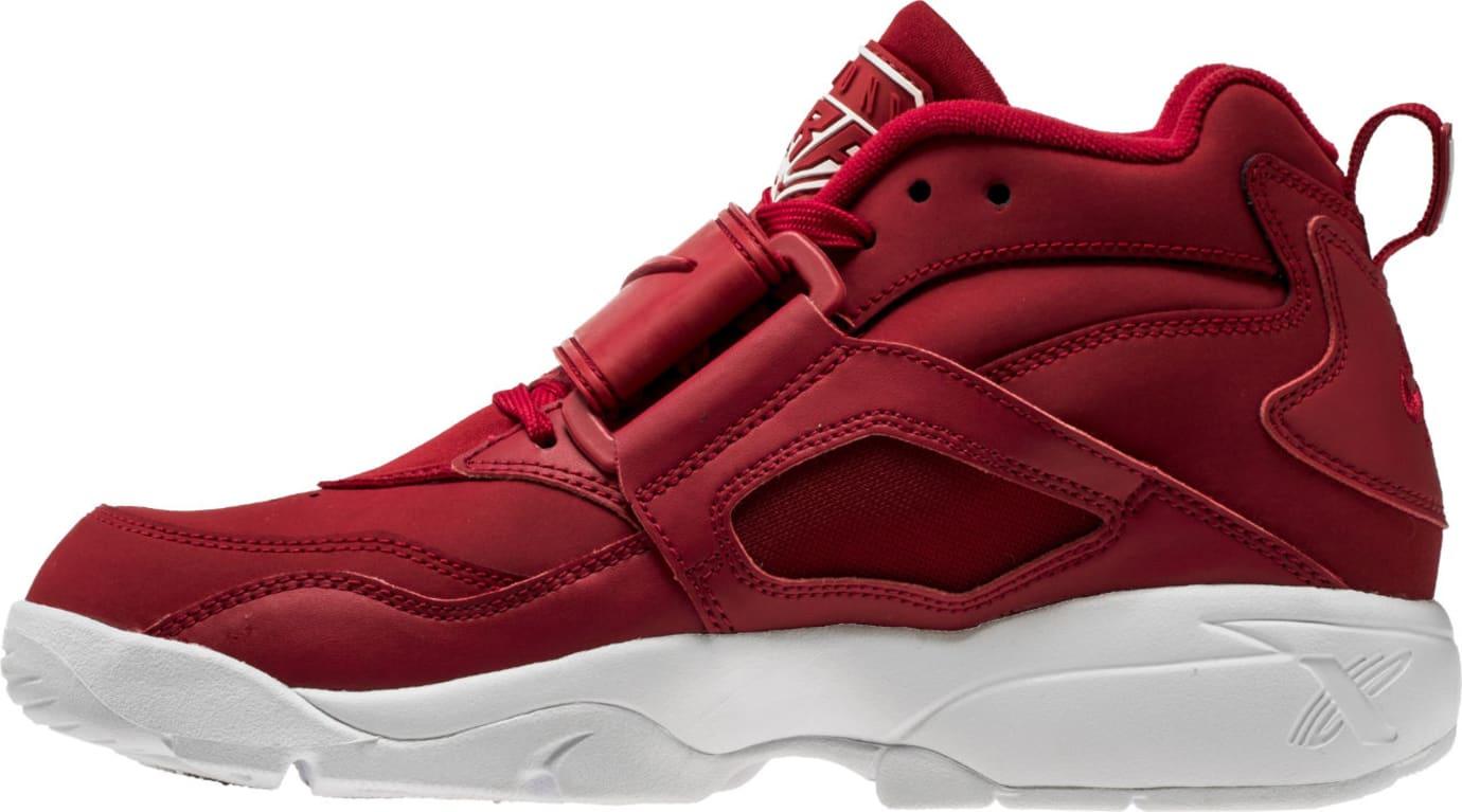Nike Air Diamond Turf Red White 309434-600 Medial