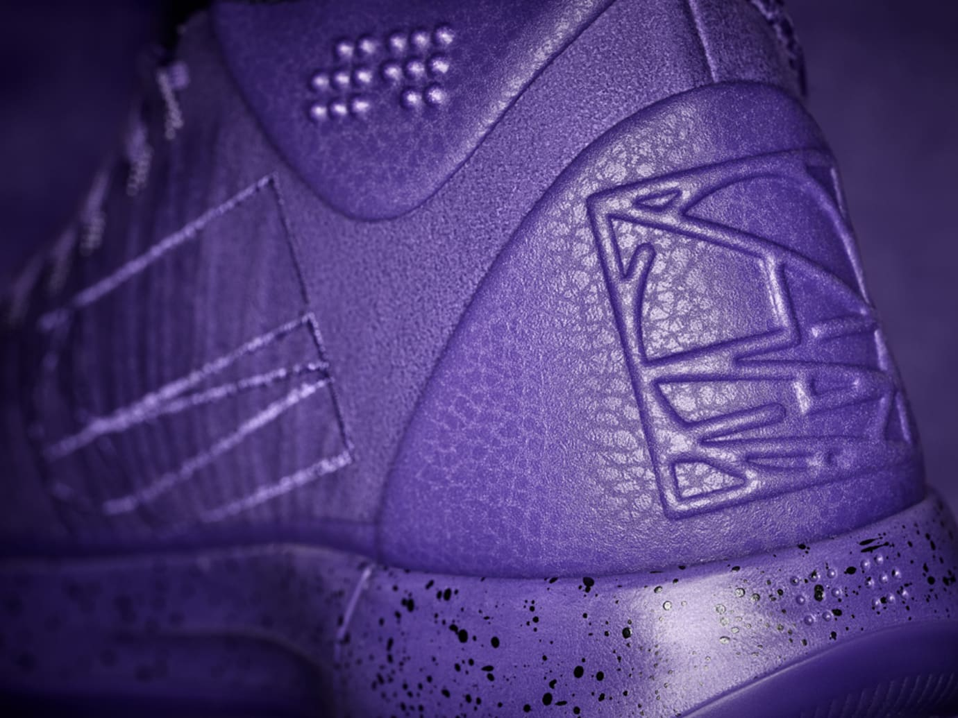 Nike Kobe AD Mid Purple Heel